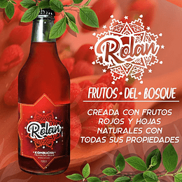 Kombucha sabor Frutos del Bosque - Rolan