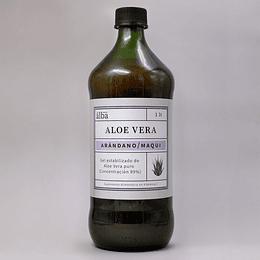 Aloe Vera Jarabe: Arandano Maqui 1 litro, Apícola del Alba