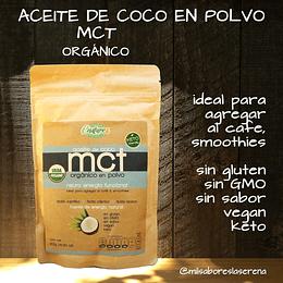 Aceite de Coco MCT orgánico en polvo