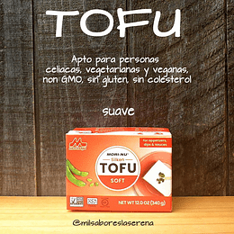 Tofu Suave, Soft, 340g