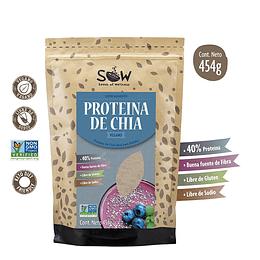 Proteína De Chia 454g, SOW