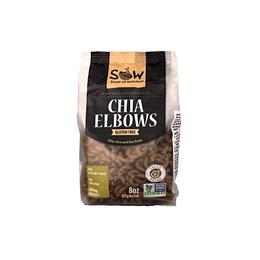 Pasta de Chia elbows 227g - Sow
