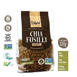 Pasta De Chia Fusilli 227G - Sow