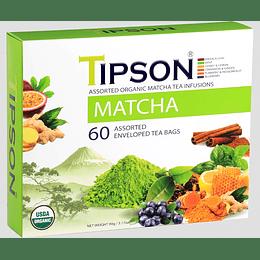 Pack Té Matcha 60 Bolsitas - Tipson