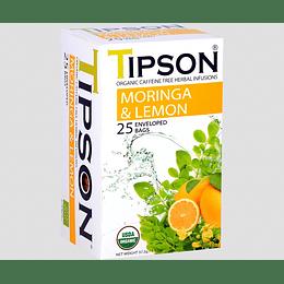 Té Moringa Limón 25 bolsitas - Tipson