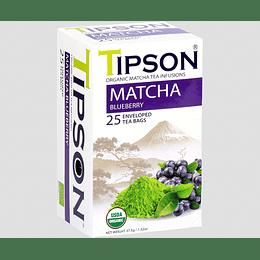Té Matcha Arándano 25 Bolsitas - Tipson