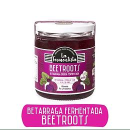 Beetroot, Betarraga cruda fermentada - La Fermentista