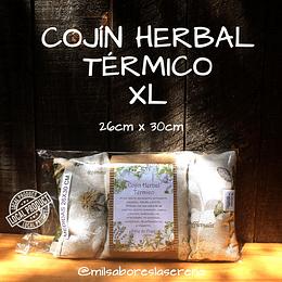 COJIN HERBAL TÉRMICO XL (26cm x 30cm), almohada