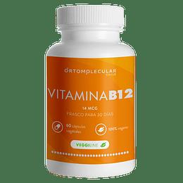 Vitamina B12 60 Cápsulas - Ortomolecular Chile
