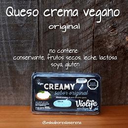 Queso crema vegano original 200g