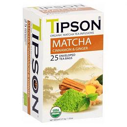 Té Matcha Canela y Jengibre 25 Bolsitas - Tipson