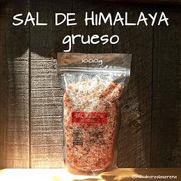 Sal De Himalaya grueso 1kg, Positiv, Sal Rosada