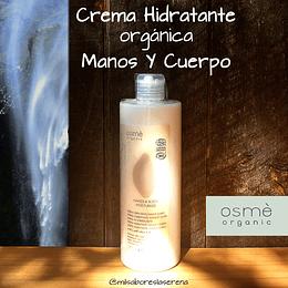 Crema Hidratante Manos Y Cuerpo Osme orgánica 380ml