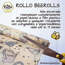 ROLLO BEEROLLS, de tela encerada 120x30cm