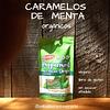 Doypack De Caramelos De Menta Sin Azúcar Orgánicos 56,7G