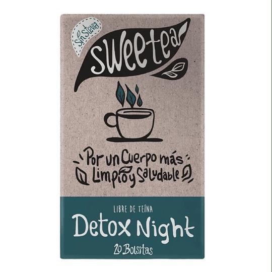 Té Detox Night SIN stevia 20 bolsitas Sweetea