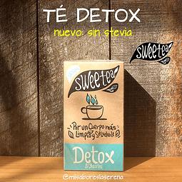 Té Detox SIN Stevia 20 bolsitas Sweetea