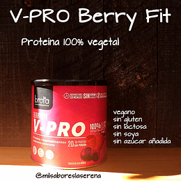 V-PRO Berry Fit, proteina vegetal, 650g