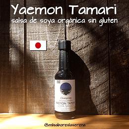 Yaemon Tamari, salsa de soya orgánica, 150ml