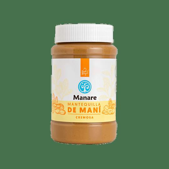 Mantequilla de maní 500g, Manare