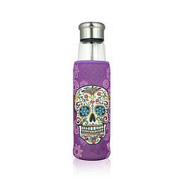 Botella con infusor 550ml - Calaca Morada