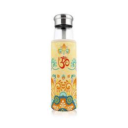 Botella Con Infusor 550ml - Amarilla