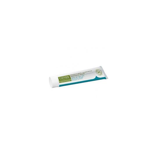 Pasta Dental Protección encías con Arcilla y Menta, Dentargille, sin Fluor, 75ml,  Cattier