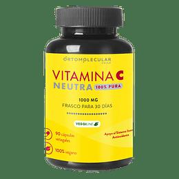 Vitamina C Neutra 1000mg 90 Cápsulsa
