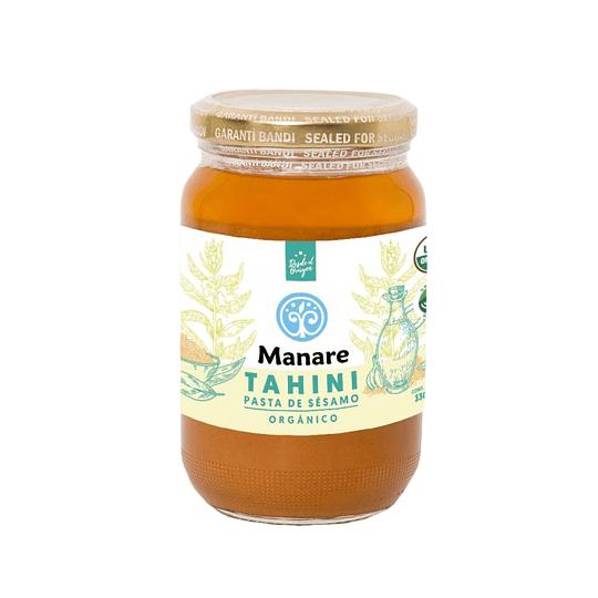 Mantequilla de Sesamo Organica – Tahini Manare  330g