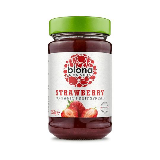 Mermelada de frutilla orgánica 250g - biona