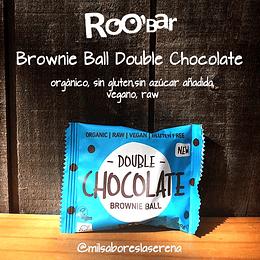 Double Chocolate Brownie Ball - RooBar