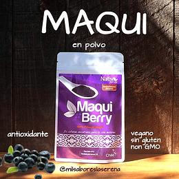 Maqui Berry en polvo 100%, 60g