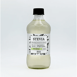 Stevia líquida 500ml - Recarga botella de vidrio