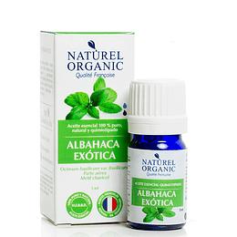 Aceite Esencial de Albahaca Exótica 5ml