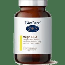 Omega 3 - Mega EPA - aceite de pescado, 60 cápsulas