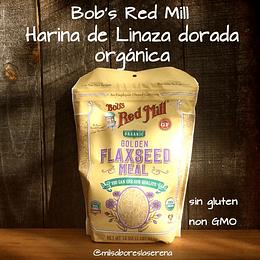 Bob's Red Mill Harina de Linaza dorada orgánica 453g