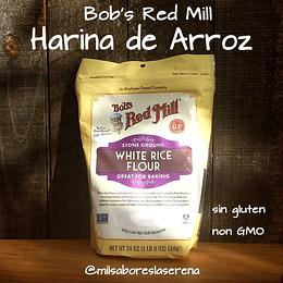 Harina de Arroz 680g Bob's Red Mill