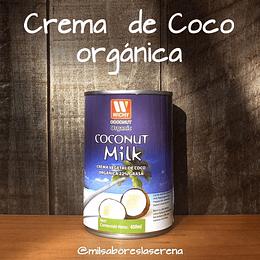 Crema de Coco orgánica 400ml Wichy Coconut