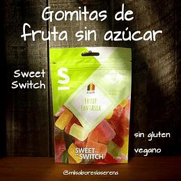 Gomitas de fruta sin azúcar - Sweet Switch, 100g