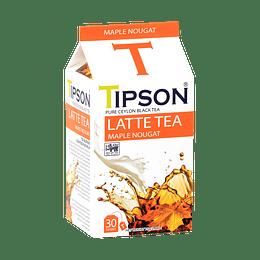 Latte Tea Maple Nougat 30 bolsitas, Tipson