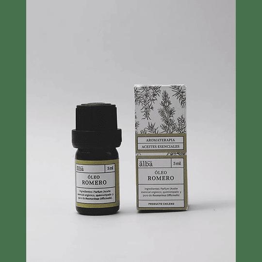 Oleo Romero 5 ml - Gotas Aceite esencial de Romero ( Rosmarinus Officinalis)