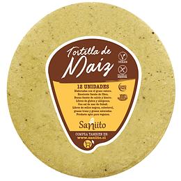 Tortilla de Maíz para Taco 14 cm – 12 unidades, Saniito
