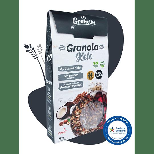 Granola Keto 300g