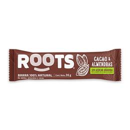 Barra Energizante Cacao Almendras ROOTS