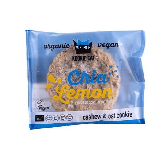 Galletón Kookie Cat Chía y Limón 50g