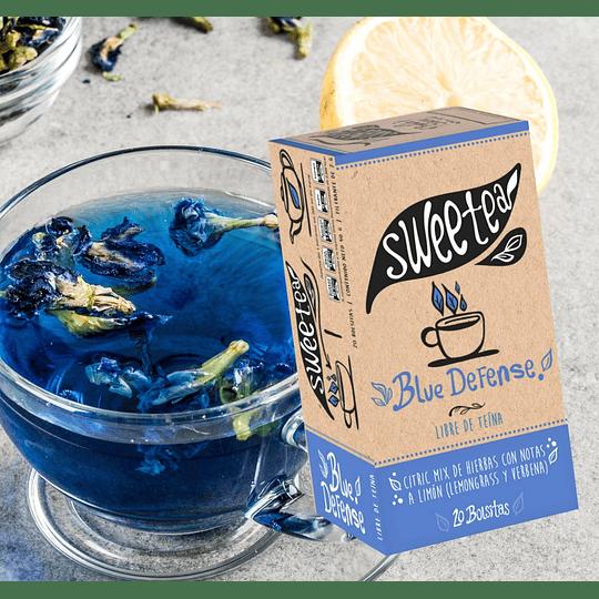 Blue Defense - Infusión de Butterfly Pea con Stevia