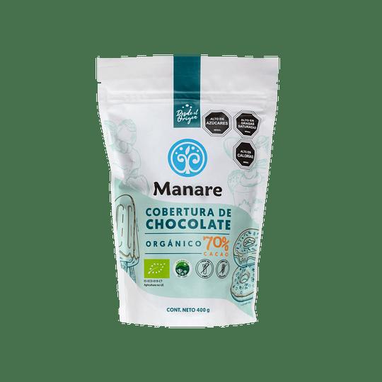Cobertura de Cacao 70% 400g Manare