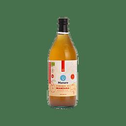 Vinagre De Manzana Organico 1 litro , Manare