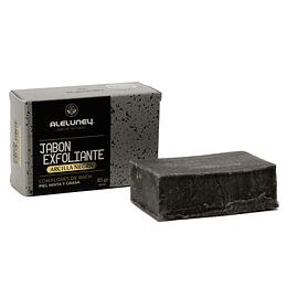 Jabón exfoliante arcilla negra 85gr