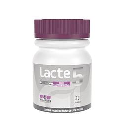 Lacte 5 Gastrointestinal, Probiótico aislado de leche materna, 30 Cápsulas